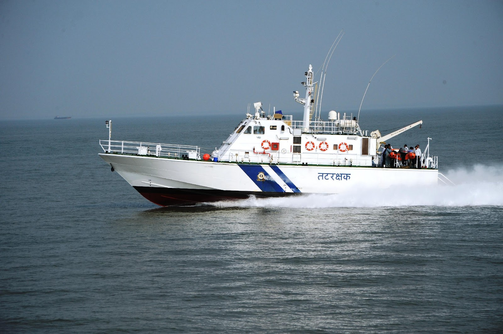 L&T Delivers Two More High Speed Interceptor ships to Indian Coast Guard