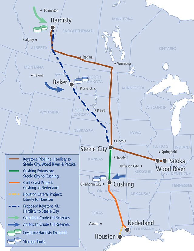 Obama says Keystone XL is for exporting oil outside the U.S., experts  disagree | PolitiFact