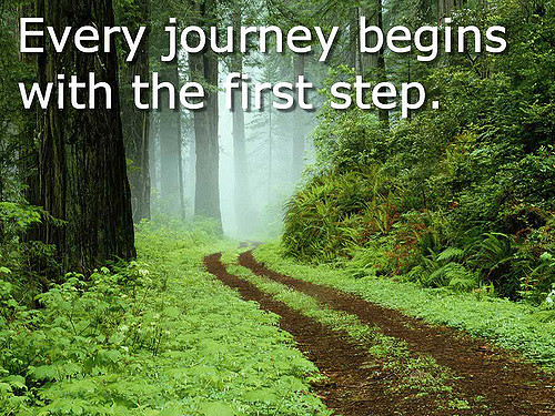 Journey - First Step | Every journey begins with the first s… | Flickr