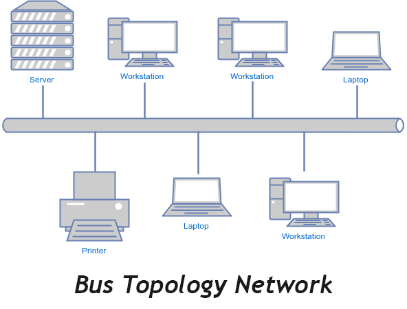 Image result for bus topology