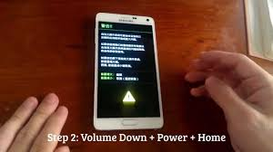 How To Enter Download Mode (Odin): Samsung Galaxy Note 4 - YouTube