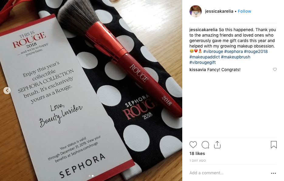 Sephora social media popularity
