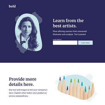 Bold là mẫu lý tưởng cho sách điện tử, bản tin và cả công cụ
