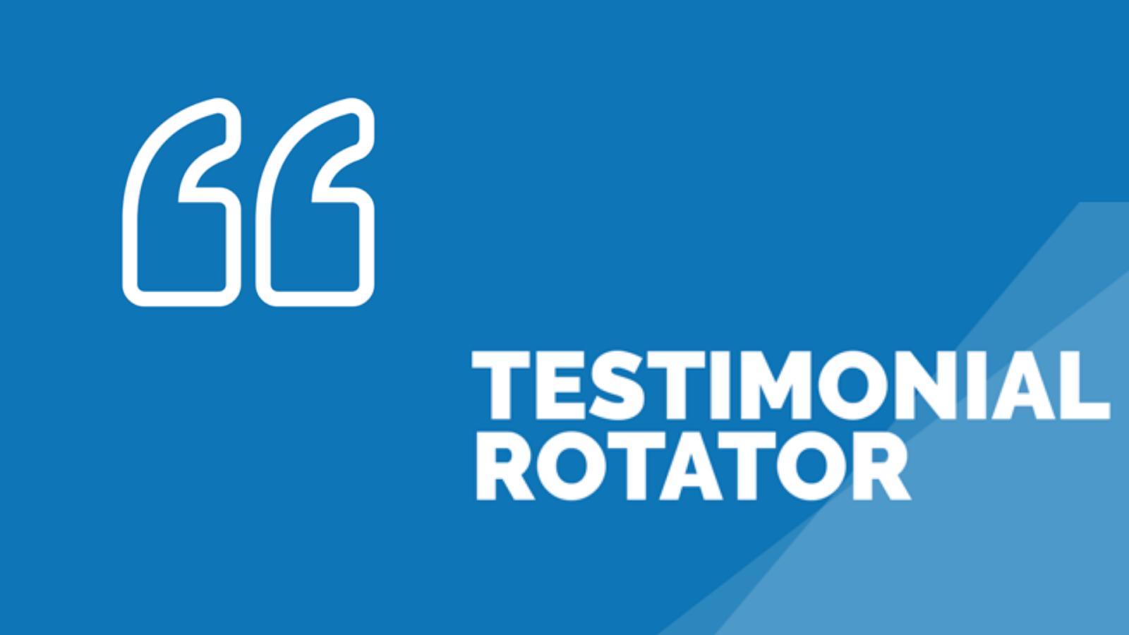 Testimonials Rotator