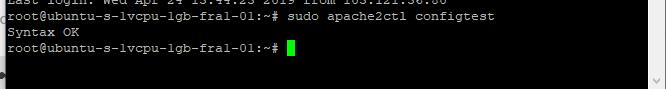 Install Apache PHP MySQL in the digital ocean or ubuntu