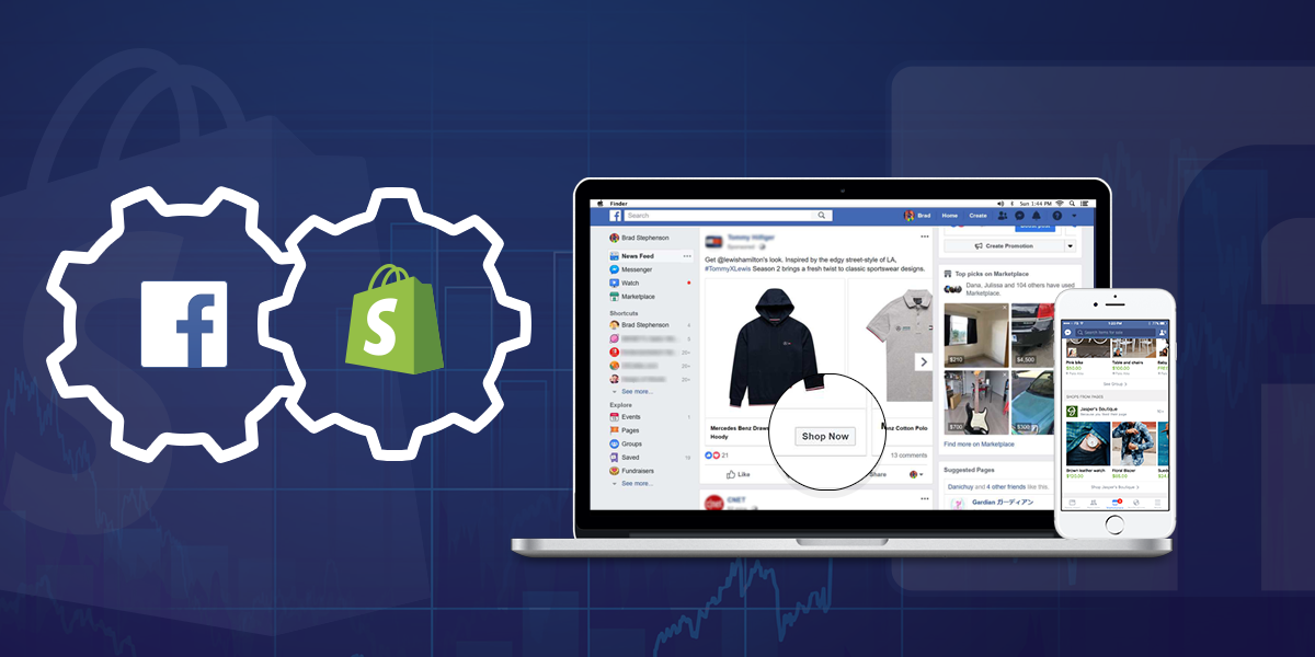 Facebook channel -Shopify facebook app