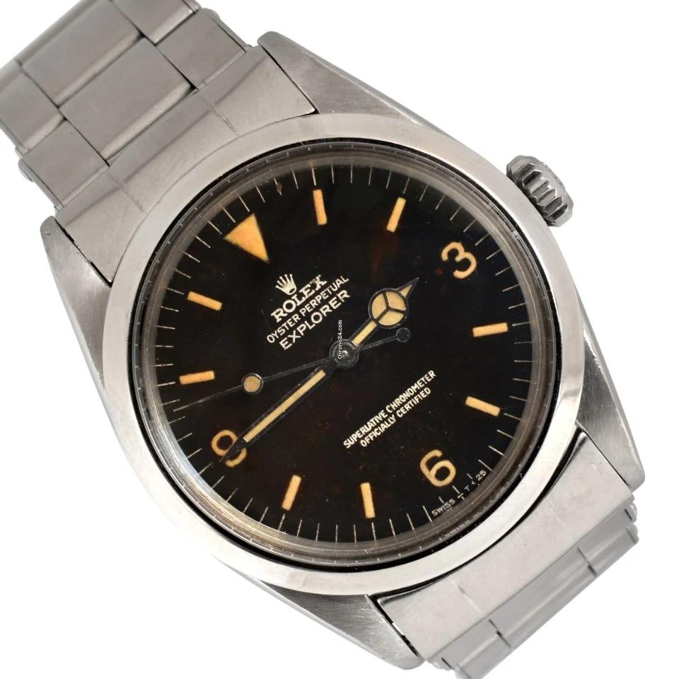 Rolex Explorer Reference 1016 Price