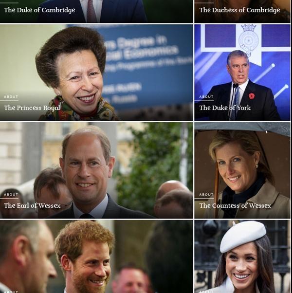 Hoàng gia hành động: Đẩy Harry và Meghan xuống dưới cùng trong bảng thành viên gia đình ảnh 1