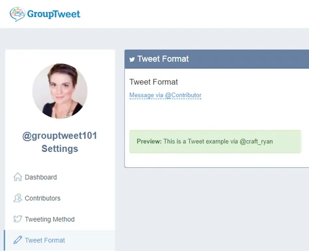 Change the tweet format - auto retweet tools - TweetJumbo.com- twitter automation bot tool