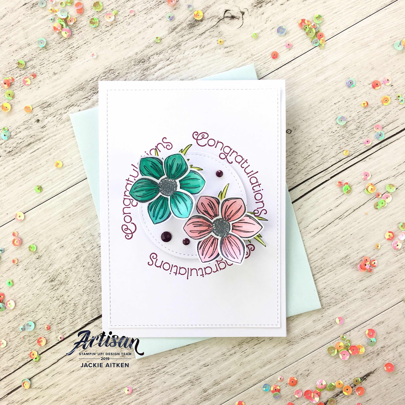 Colour INKspiration Blog Challenge, Daisy Lane, Embossing Paste, Floral Cards, Perennial Essence,
