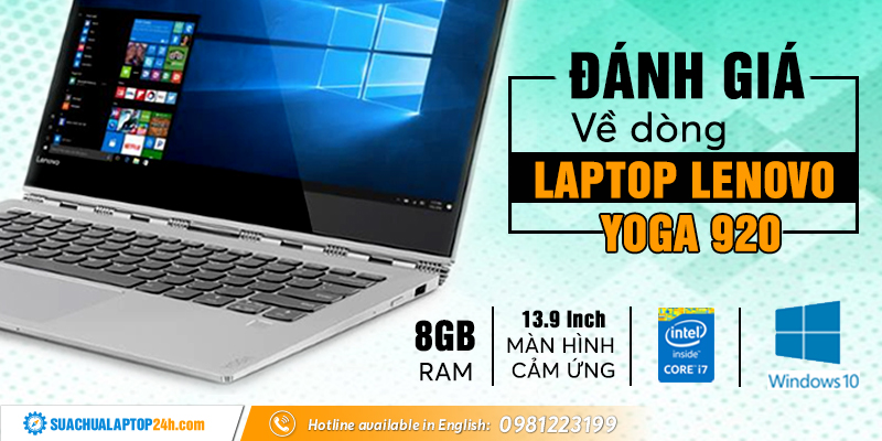 Đánh giá laptop Lenovo Yoga 920