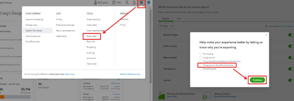 QuickBooks online to desktop-screenshot