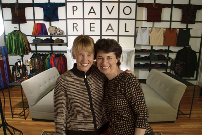 Sarah Hodges and Mindy Brush, Pavo Real