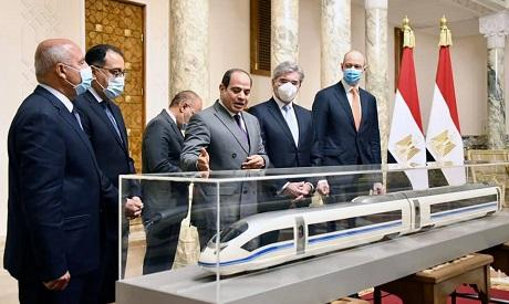High-speed electric rail