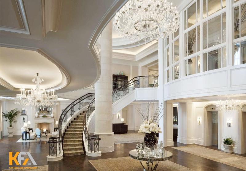 Thiết kế nội thất biệt thự đẹp ấn tượng