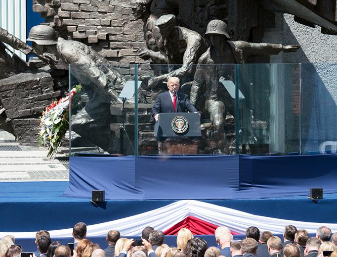 Diễn văn của Tổng thống Trump trước người dân Ba lan ngày 6 tháng Bảy, 2017