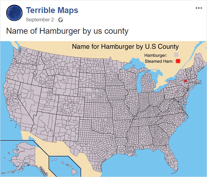 52 Terrible Maps That Are So Bad They're Good | Bored Panda