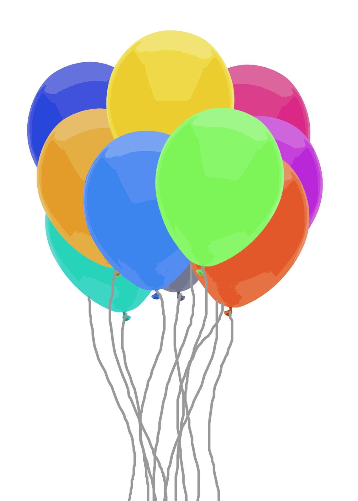 Regnbåge ballong gäng Gratis Stock Bild - Public Domain Pictures