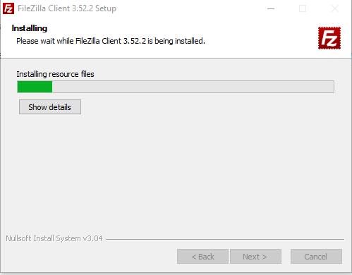 Cara Install FileZilla image 5