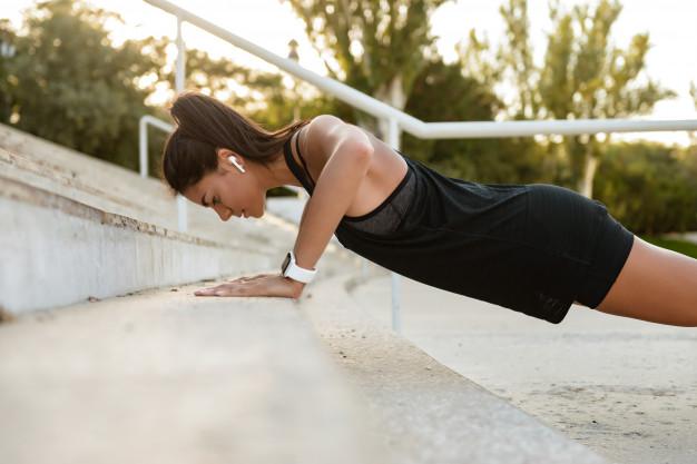 4. การออกกำลังกายด้วยการบอดี้เวท