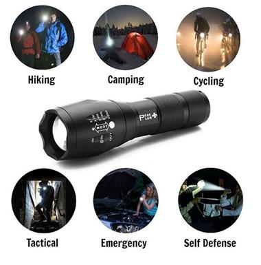 Đèn pin siêu sáng – vật dụng không thể thiếu với mỗi người