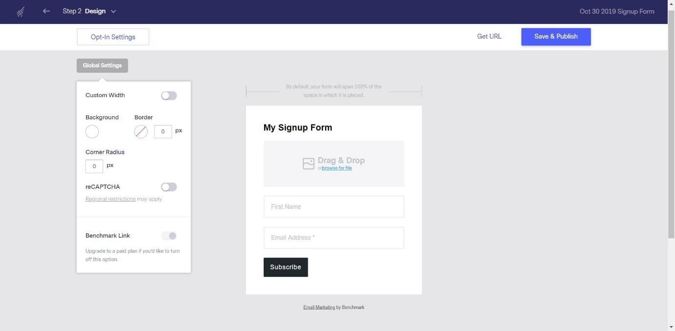 My Sign-up Form
