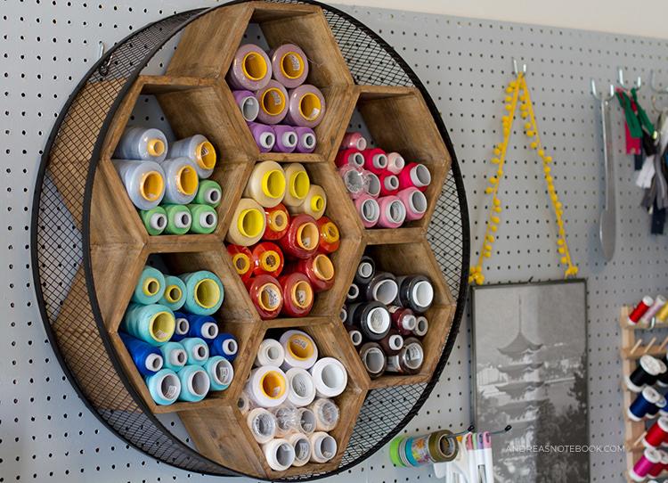 11. Honeycomb Thread Storage