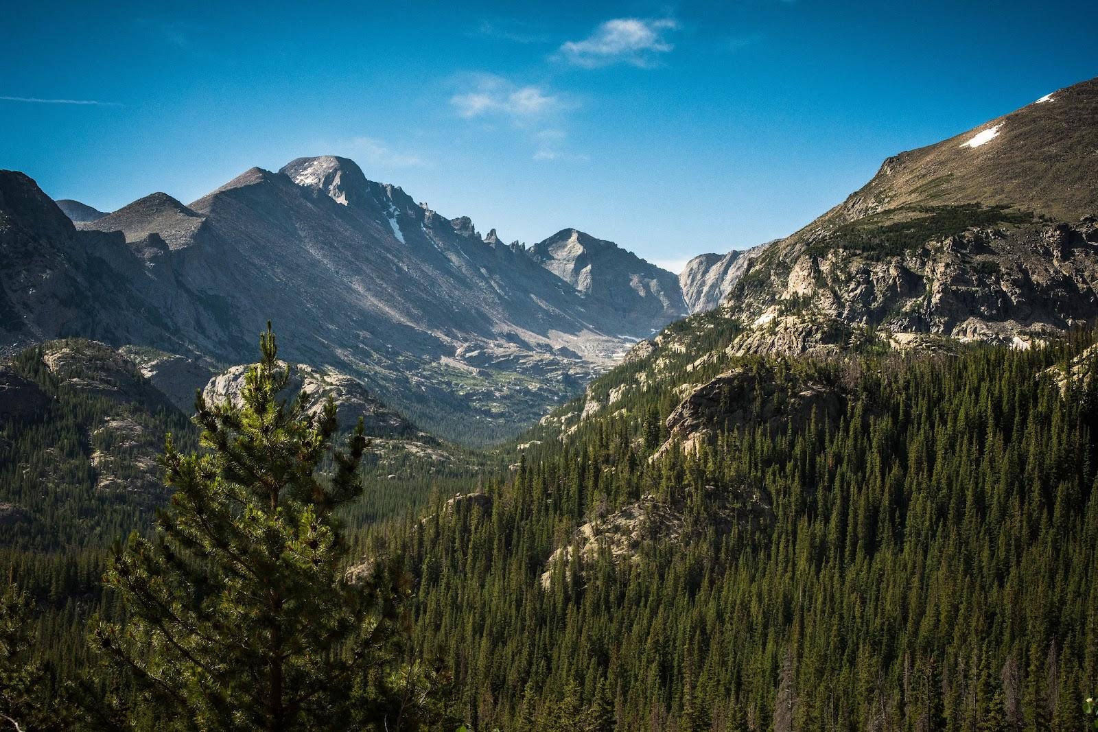 Rocky Mountain Valley in Colorado.