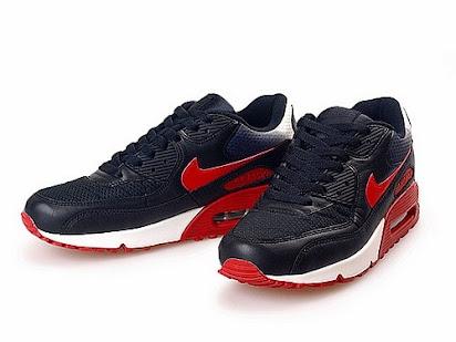 Женские Кроссовки Nike Air Max 90 Hyperfuse Grey Red купить