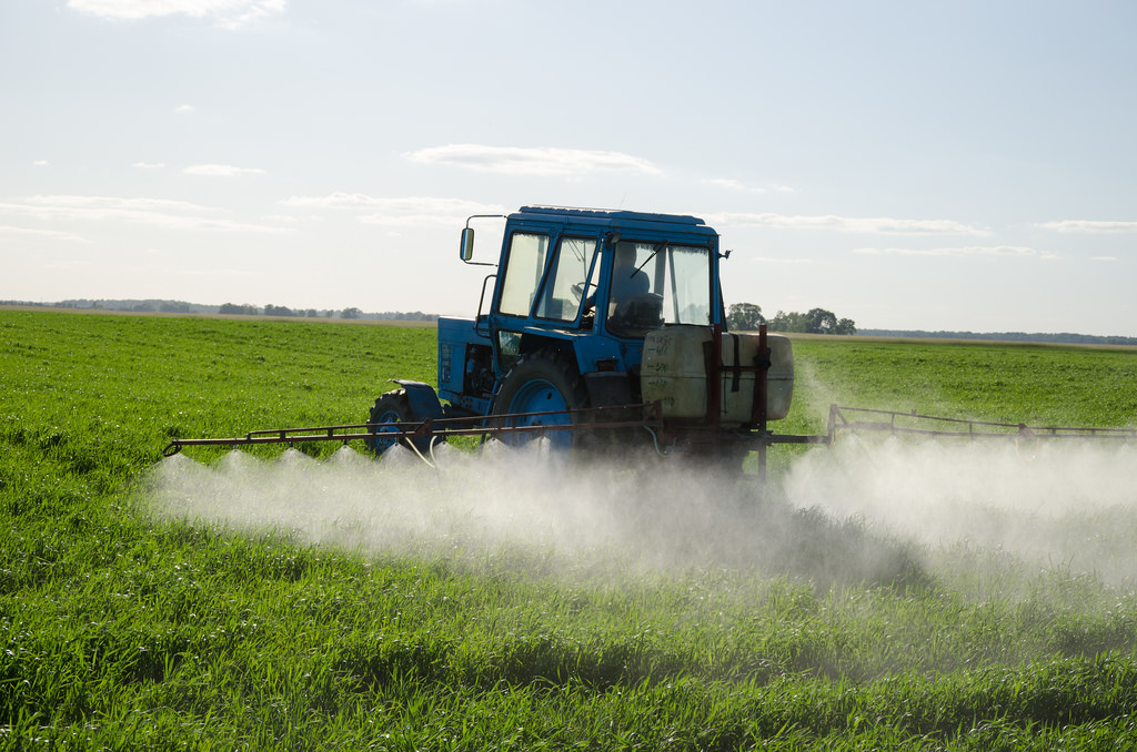Image result for spraying fields