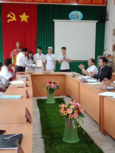 Hội thi tay nghề, chuyên môn bác sĩ, y sĩ, dược sỹ,  điều dưỡng, nữ hộ sinh, kỹ thuật viên của trung tâm y tế huyện Đăk Glong năm 2019
