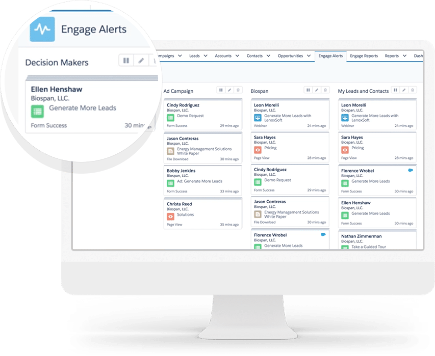 Real Time Alerts | A Comprehensive Pardot B2B Marketing Automation Guide | Concretio Apps | Salesforce Consulting Company