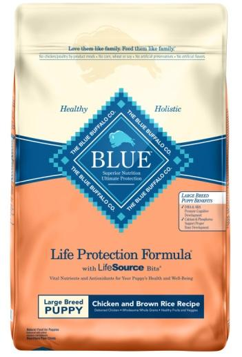 Blue Buffalo Life Protection Formula Large Breed Puppy Chicken & Brown Rice Recipe Dry Food