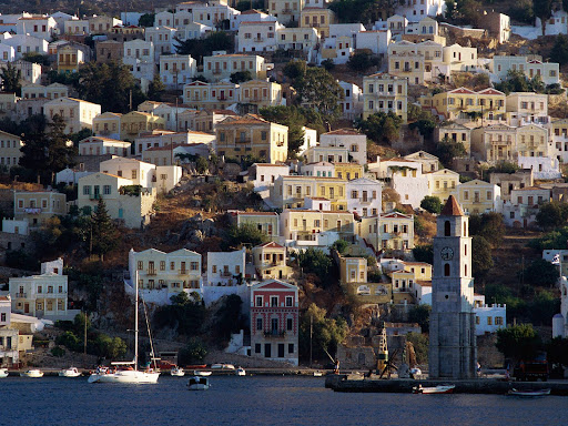 Harbor Town of Yialos, Island of Symi