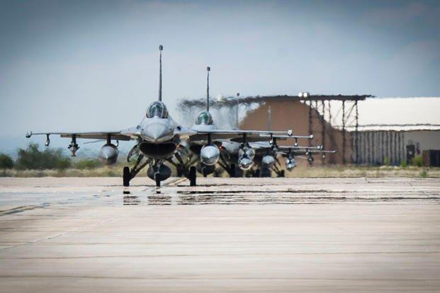F-16 Fighting Falcons from Luke Air Force Base
