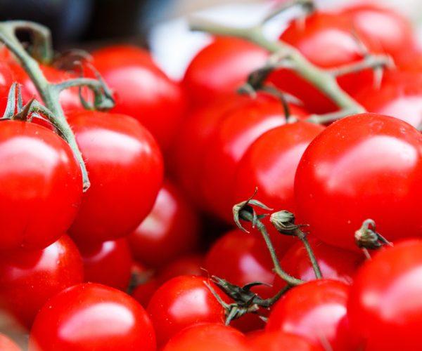 pilha de tomates