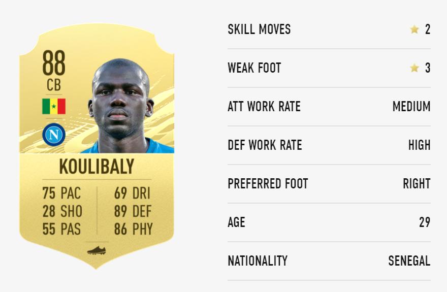 FIFA 21 Koulibaly