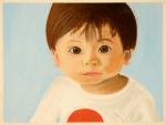 B-baby portrait