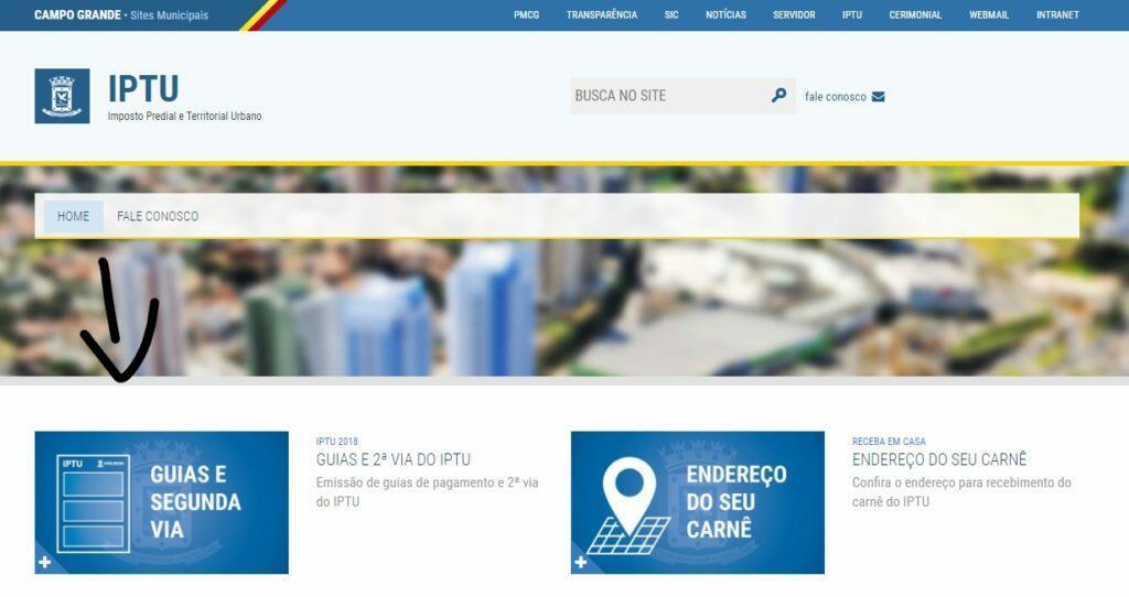 IPTU Campo Grande 2020 MS