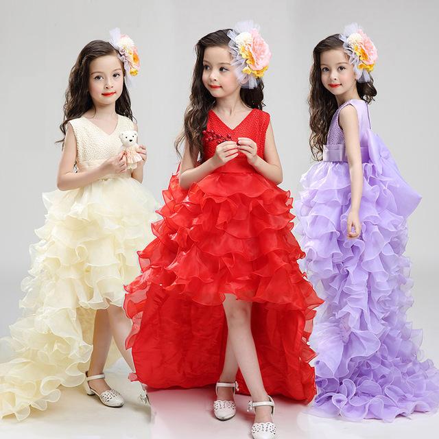 Sukienki z ogonem dla dziewczynek