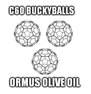 C60 Ormus Olive Oil