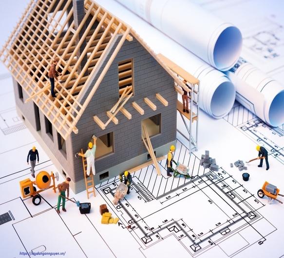 Giá xây dựng hiện nay có thể tính theo m2