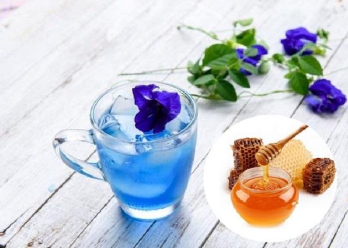 Trà hoa cúc và trà hoa đậu biếc giảm cân