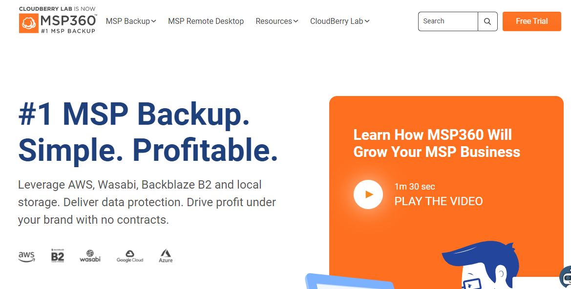 MSP360 Windows Server Backup Software