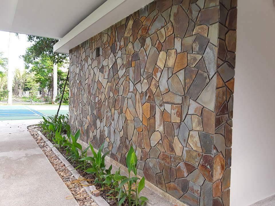 bề mặt từng được thi công đá tự nhiên