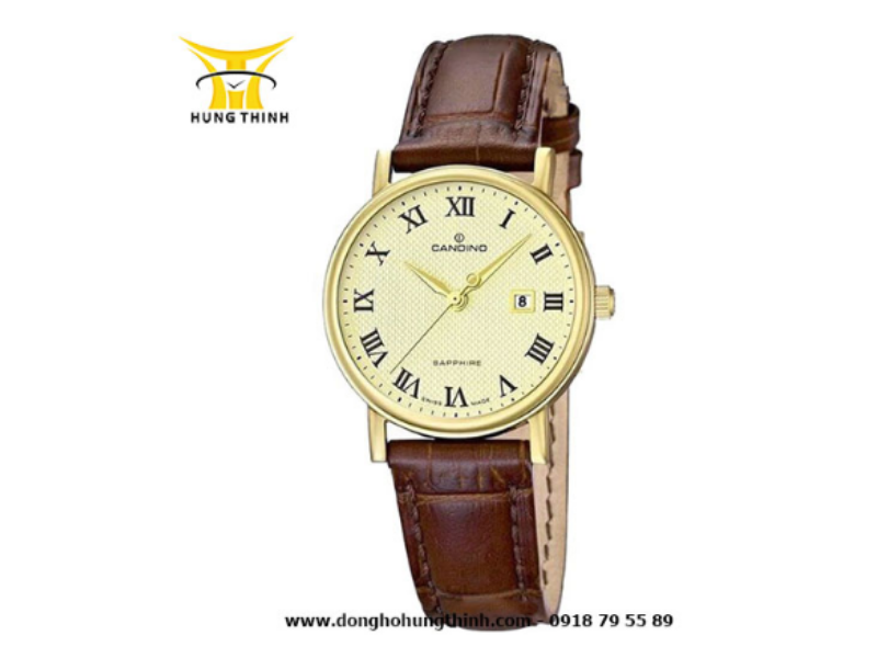 """Dây da đồng hồ Candino luôn được thiết kế thể hiện đúng """"chất"""" của thương hiệu"""