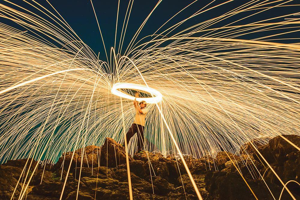 long exposure shot