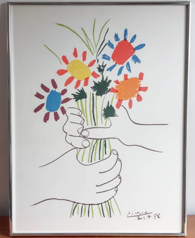 picasso of flowers