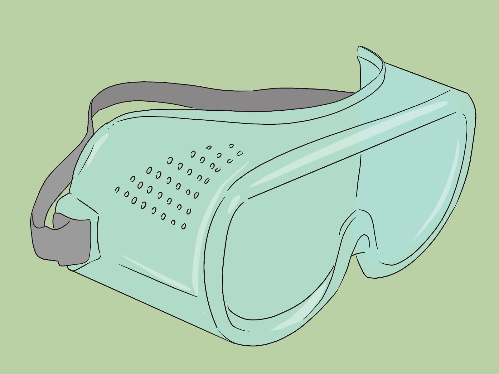 شکل عینک ایمنی