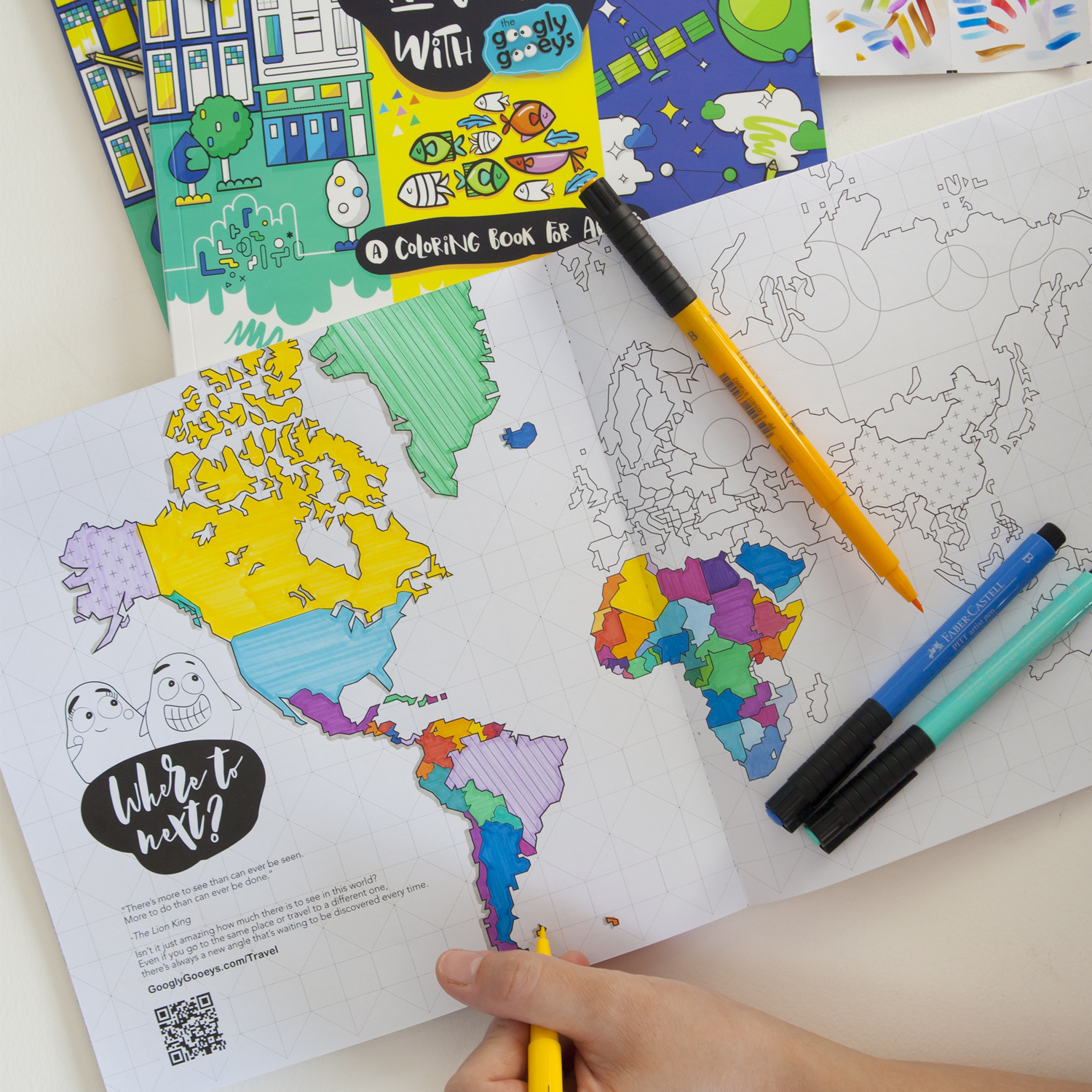 Coloring Book Hits Bookstores This Week Googly Gooeys Watercolor Workshop